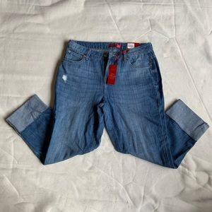 Jeniffer Lopez Mid Rise  Capri Jeans Size 6